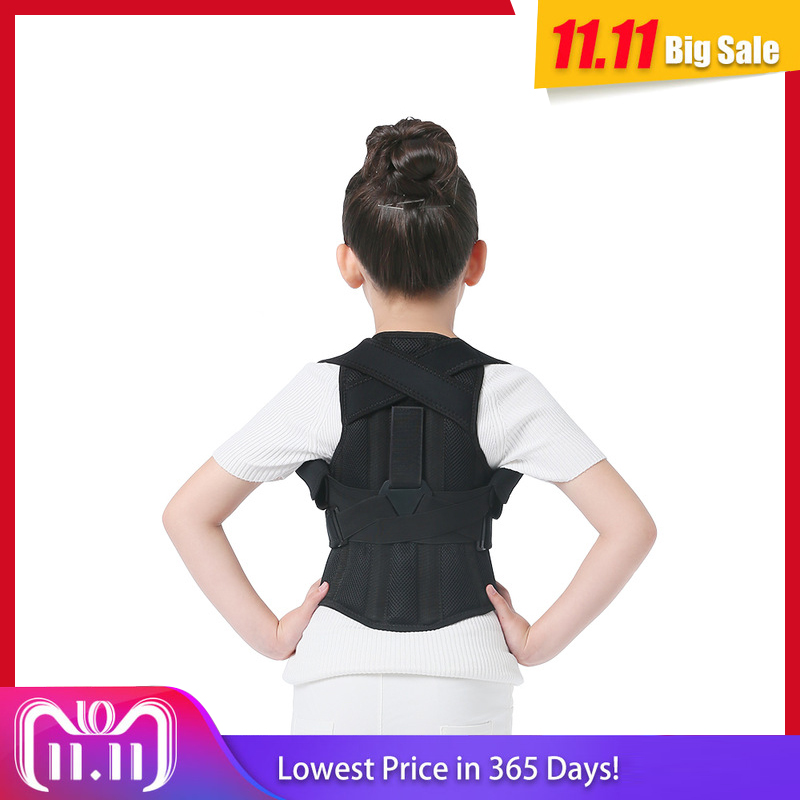 JORZILANO Profesional Children Adjustable Back Chest Support Belt Posture Corrector Therapy Shoulder Brace Correcting hunchback hunchback kids children posture adjustable back support corrector belt brace for boys girls band