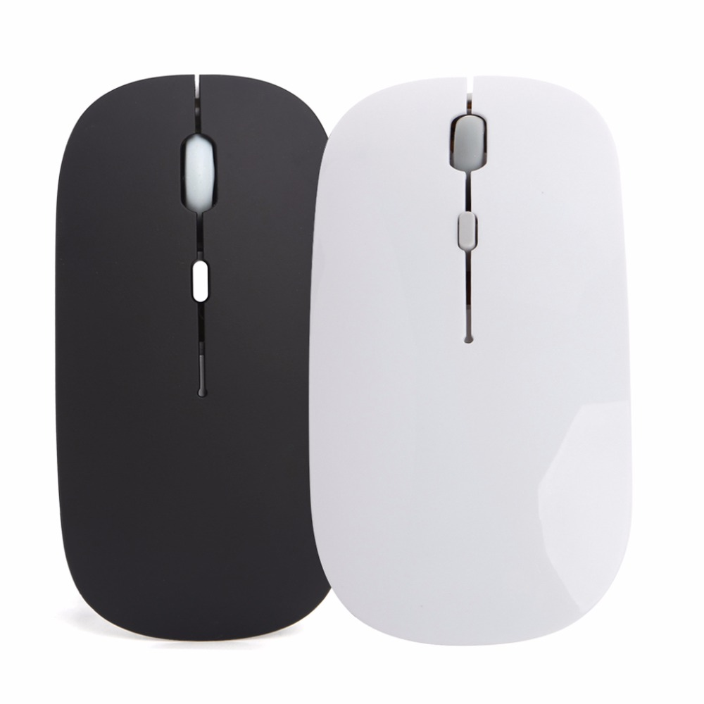лучшая цена New USB Rechargeable Mouse Wireless Silent Mute Optical Mouse Laptop Computer 2.4G hot