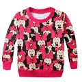 Hot baby girls boys cartoon mickey cotton printing t-shirts childrens lovely minnie t shirts tees tops children clothes