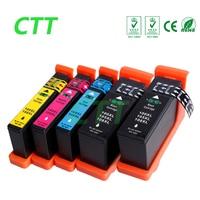 5 ADET uyumlu mürekkep kartuşu için Lexmark 100 100XL LM100 105XL 108XL için S305 S308 S405 S408 S505 S508 S605 S608 Yazıcı