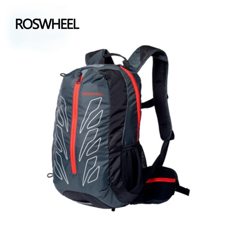 ROSWHEEL Cycling Backpack Outdoor Sports Breathable Backpack Women Men For Bicycle Cycling Bag Brand Multifunction Backpack roswheel outdoor sports backpack bike bag bicycle bag 20l cycling bag accessories with waterproof cover multi function