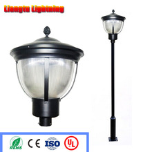 High Pole Outdoor Lighting Garden Light Post Vintage Street Lamp Aluminum Made Bronze Color waterproof 220v/110v