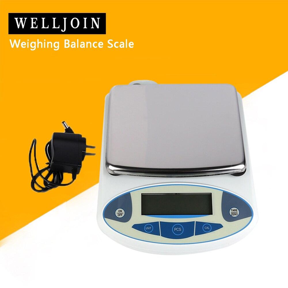 5000x0.01g 10mg 5kg Balance de pesage numérique analytique bijoux de laboratoire