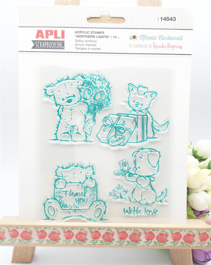 lovly cartoon bear design silicon stamps scrapbooking stamp for kids diy paper card wedding gift christmas gift poto Album alphabet letters design silicon stamps scrapbooking stamp for kids diy paper card wedding gift christmas gift poto album rz 032