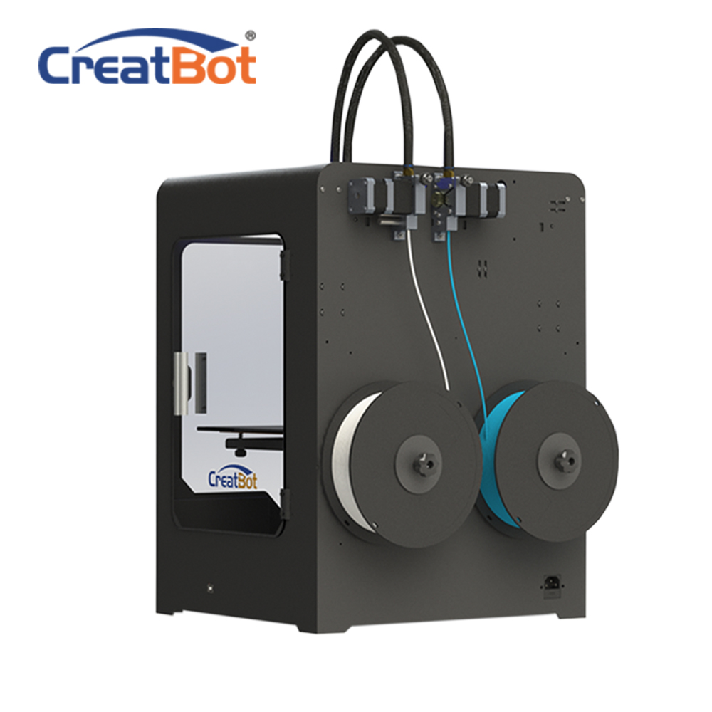 FREE SHIPPING DX02 300*250*300mm Dual Extruder Creatbot 3d printer 3D - Office Electronics - Photo 2