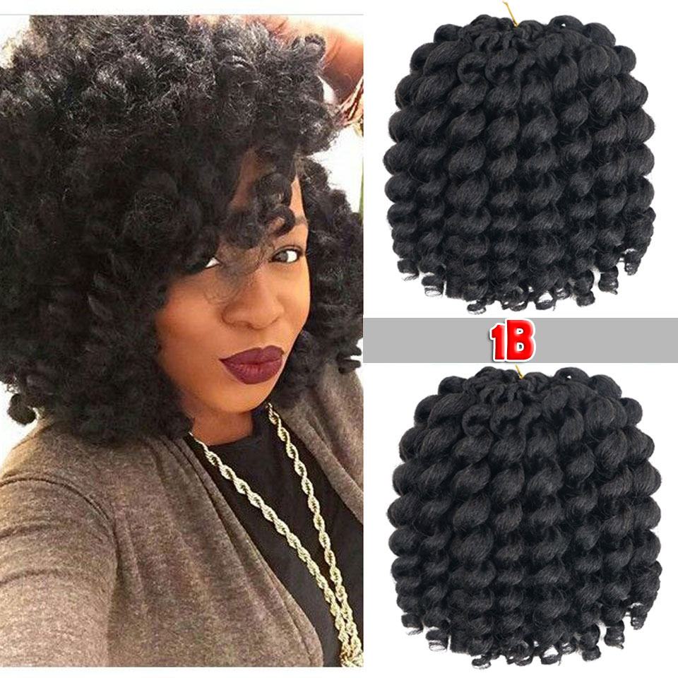 Hot Sale Beyond Beauty Jumpy Wand Jamaican Bounce Curl Crochet Hair