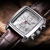Relogio Masculino для мужчин s часы лучший бренд класса люкс JEDIR для мужчин Военная Униформа Спорт световой наручные часы хронограф кожа кварцевые ч