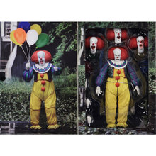Tronzo Action Figure NECA IT Pennywise Figure 18cm SHF IT Clown Model Collection Decor For Halloween Decoration Horro Gift(China)