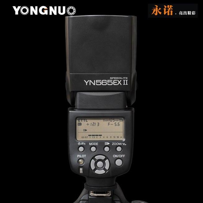 Prix pour Yongnuo YN-565EX II Speedlite YN565EX II Pour Canon 6d 60d 5d mark iii 550d 1100d 650d 600d 700d 7d 5d2 Caméra Sans Fil TTL Flash