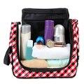 Nueva Moda de nueva llegada de gran capacidad de bolsa de maquillaje bolsa de cosméticos bolso de las mujeres bolsa de lona bolsa de viaje grande de almacenamiento portátil