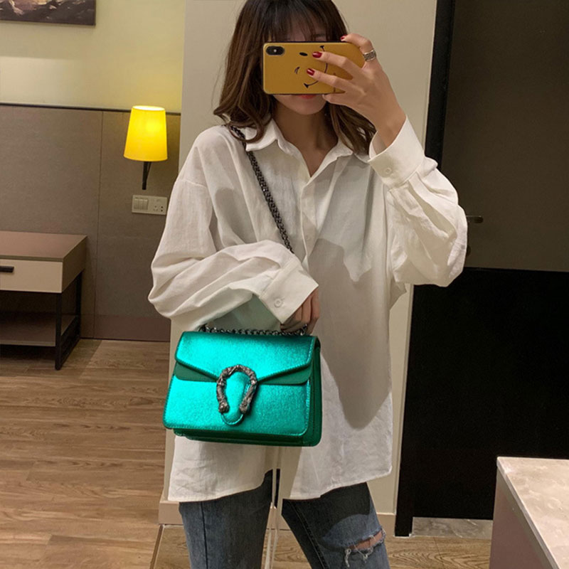 2018 Women Chain Shoulder Bags Black Fashion Women Messenger Bags Candlelight Leather Flap Bags Diagonal Lady Girls Handbags-in Shoulder Bags from Luggage & Bags on Aliexpress.com | Alibaba Group