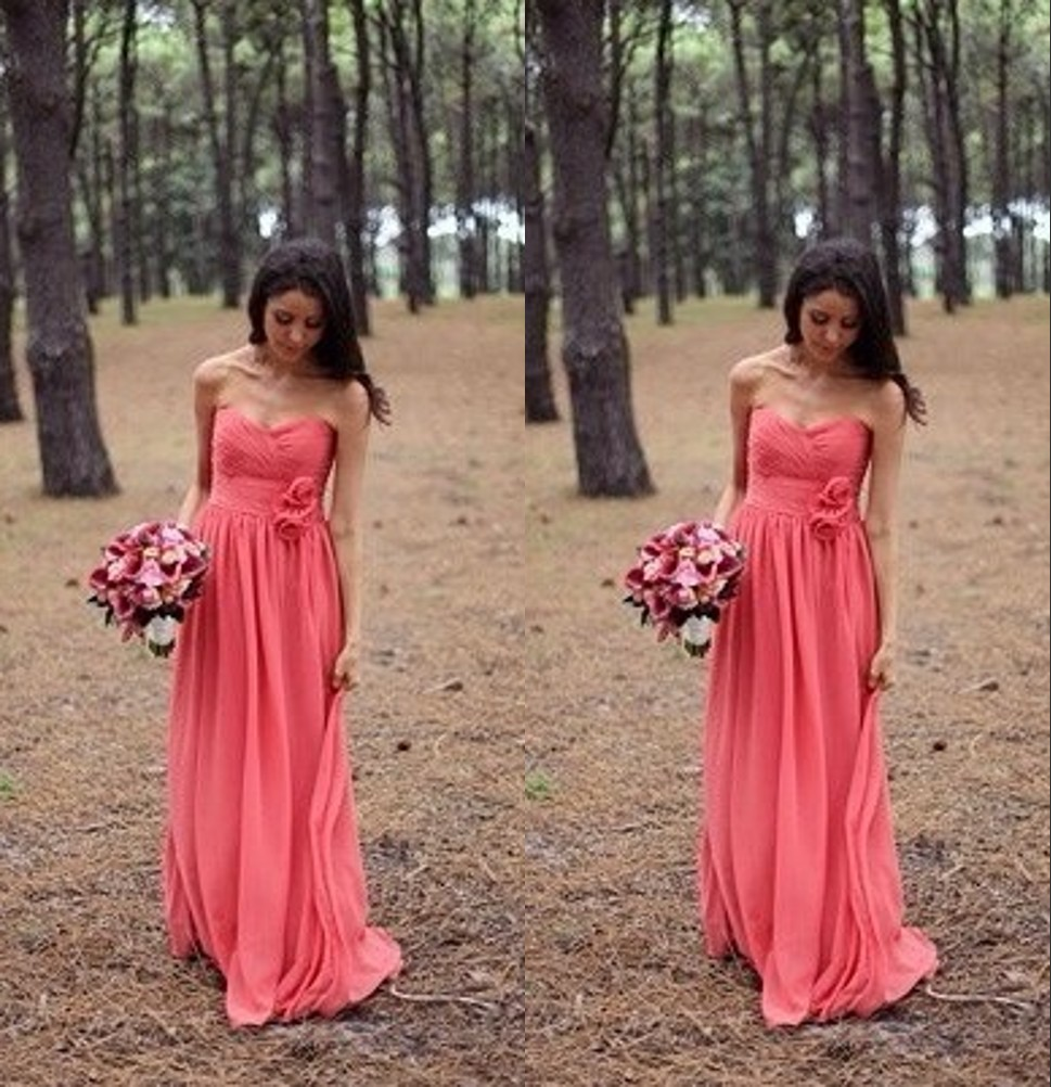 Compare prices on gown bridesmaid navy blue online shoppingbuy blush flower chiffon bridesmaid gown rednavy bluepeachivorychampagne ombrellifo Choice Image