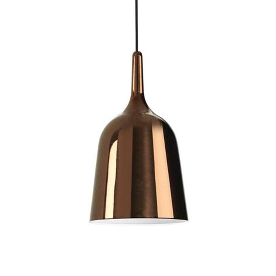 100% Kwaliteit Moderne Aluminium Metalen Zwart/wit/goud/zilver Hanglampen Nordic Designer Plated Ring Hanglamp Opknoping Lamp Voor Thuis Kamer
