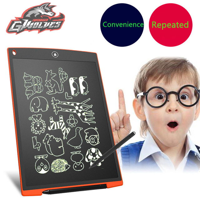 5 colors LCD Writing drawing toys Board Tablet Electronic writing Pad board learning education Kids toys Children Gifts