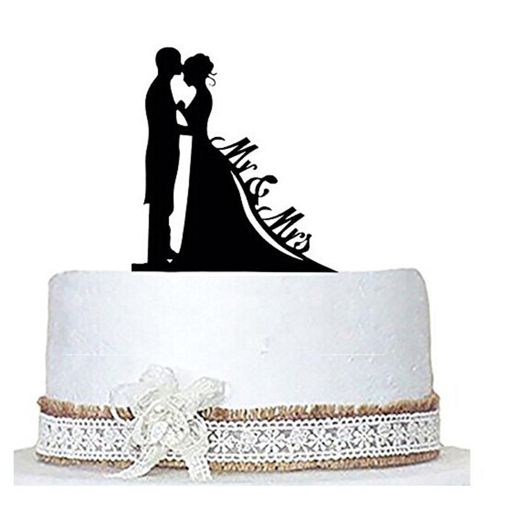 Bride And Groom Wedding Cake Topper Wedding Cake Stand Decoration ...