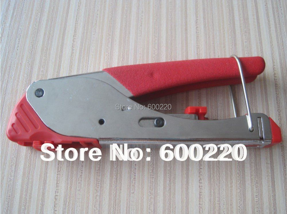 LS-H518E compression crimping tool for coaxial cable RG59 RG6 F connector