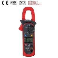 UNI T UT203 Digital Clamp Meter Auto Range Multimeter AC DC 600V Voltmeter Ammeter Ohmmeter Frequency Diode Tester Data hold