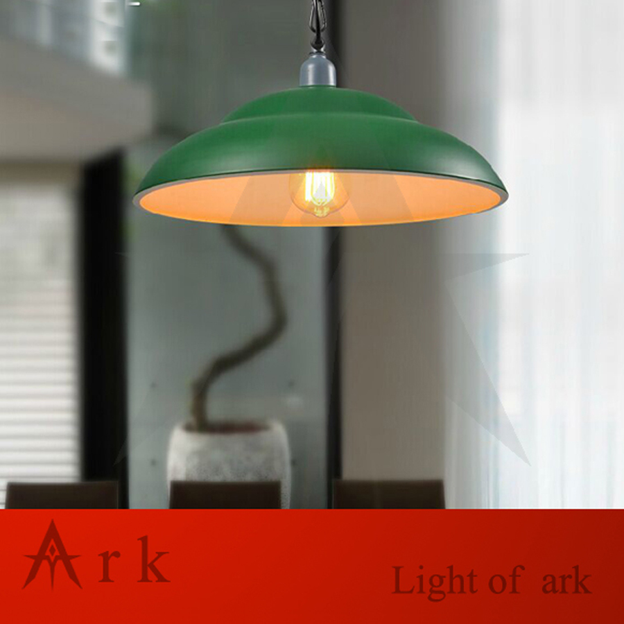 ARK LIGHT VINTAGE IRON Pendant light american old furniture nostalgic vintage  for living room COOFE ROOM DINNER ROOM