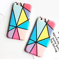 Luxury IMD Case For Apple iPhone 6 Case Fashion Colorful Geometric Graphic Pattern Cover for iPhone 6S 6 Plus Phone Cases Coque