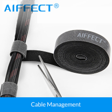 AIFEECT 5 PCS Nylon Cable Winder Wire Organizer Management Protetor Ties Wrapped Cord Line Reusable