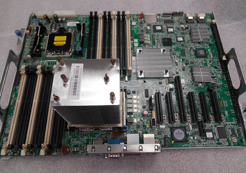 Server Motherboard For ProLiant ML350G6 606019-001 461317-002 Original 95%New Well Tested Working One Year Warranty 715183 001 676196 002 socket fm2 motherboard for pro 6305 sff system well tested working