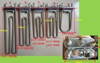Washing Machine Parts Heating Tube With Thermostat Senser Or Without 2000W 1900W