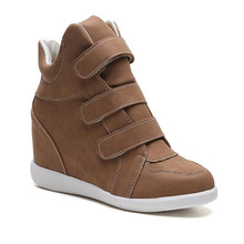 High Quality Breathable Wedges Women Casual Trainers Thick Sole Zapatos Mujer Tenis Feminino