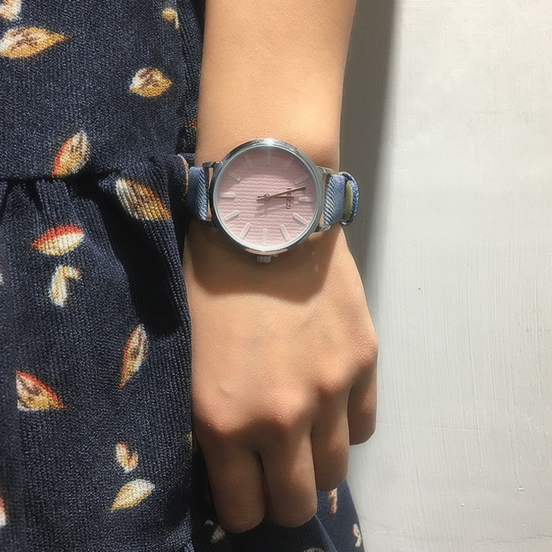 KEZZI Dameshorloge Casual Topmerkhorloge Dames Klok Denim Blauw - Dameshorloges - Foto 6