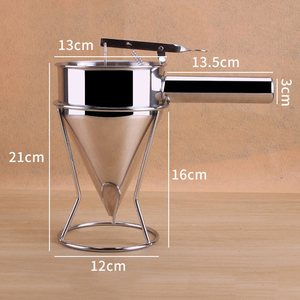Image 5 - Pancake Batter Dispenser Perfect for Baking of Cupcakes Waffles, Cakes Any Baked Goods   Bakeware Maker with Measuring Label