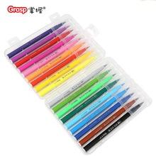 Premium Painting Soft Brush Pen Set Watercolor pen 12/18/24/36 colors Markers Pen Effect Best For Coloring Books Manga Comic