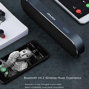 Image 3 - AWEI Y220 Portable Bluetooth haut parleur Hi Fi extérieur sans fil haut parleurs système de son 3D stéréo basse AUX musique Surround haut parleur