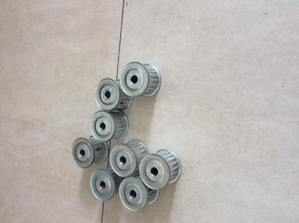 5pcs XL type fit for 15mm width belt 10teeth 6.35mm bore aluminum pulley aluminum alloy 5m type timing belt pulley 40 teeth 12mm bore fit for 15mm belt width
