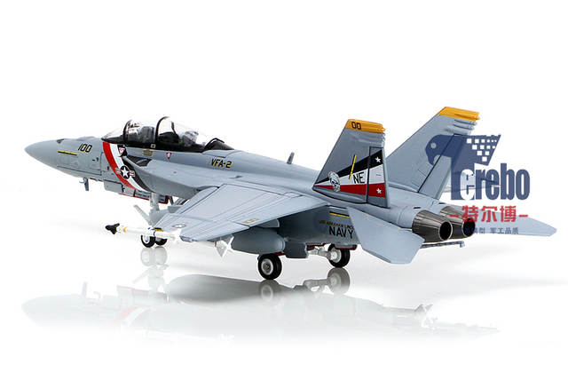 US $116 11 |Terebo 1/72 Scale Military Model Toys U S  Navy F 18 F18 Hornet  Strike Fighter Diecast Metal Plane Model Toy For Gift/Collection-in