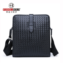 FEIDIKABOLO Vertical Section Woven Men's Bag New Fashion Hig