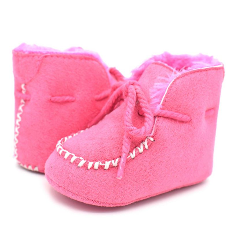 d244a1857 ... Warm Baby Girls Boys Shoes Infants Fur Wool Booties Sheepskin Genuine  Leather Kids Fur Boots New. Previous. Next