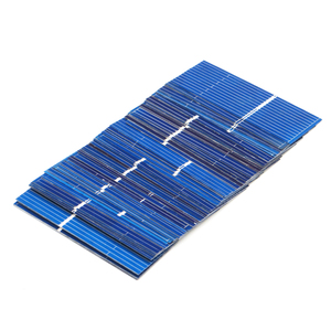 Image 2 - 50pcs/lot x Polycrystalline Silicon Solar cells Panel Painel DIY Charger Sunpower Solar Bord 52*19mm 0.5V 0.16W