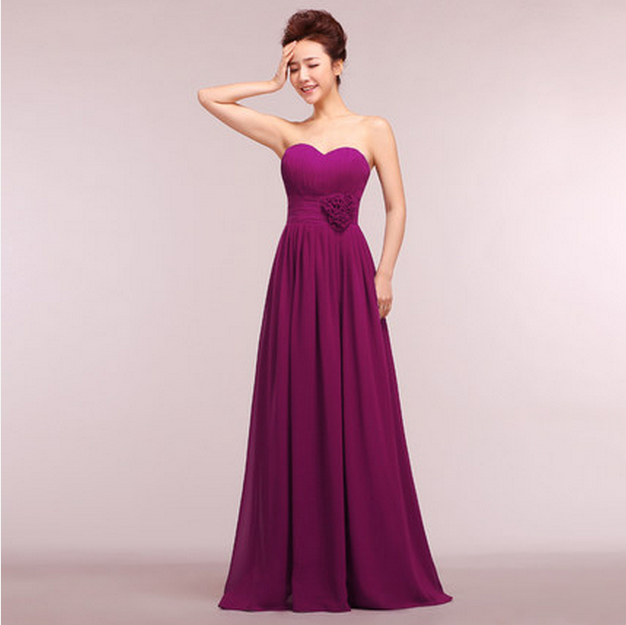 Elegant women plus size size purple corset long classy for Plus size party dresses for weddings in india