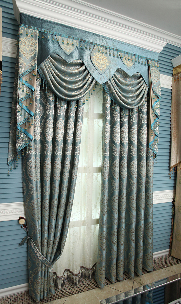 Free Shipping Luxury Crystal Curtain Gold Quality