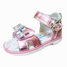 Fashion Summer 1pair Orthopedic Baby Sandals antiskid Childr
