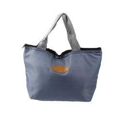Модная сумка для ланча Женская Высококачественная Водонепроницаемая Переносная утепленная для пикника Ланч-бокс тепловой мешок Ланчбокс #...