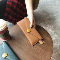 58 108 New style 100% Real leather Luxury women cow leather wallets & Holders Designer Crossbody For Female Ladies Brand Gurovi