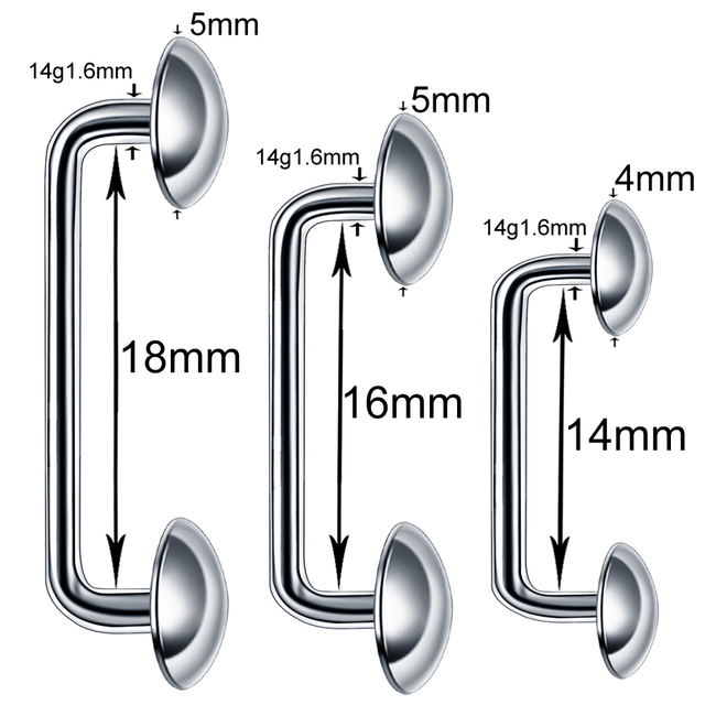 1PC G23 Titanium Internal Thread Nose Hoop Rings Daith Rook Ear Septum Lip Tongue Eyebrow Belly Nipple Piercings Body Jewelry 1