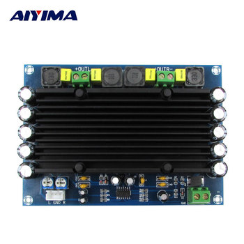 AIYIMA Amplifiers Audio Board Amplificador Pre-class TPA3116D2 Two Channel Digital Amplifier Board 150x2 DC12-24V