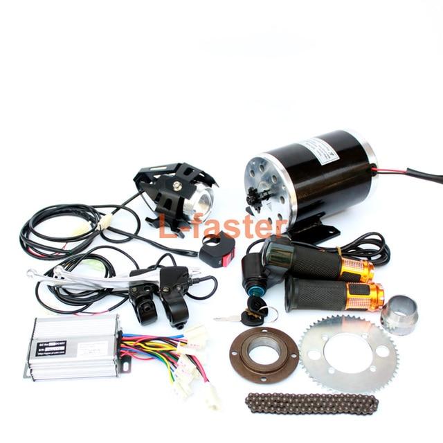 1000w Electric Motorcycle Motor Kit Changing Gas Atv To