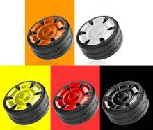Itek Mini Tire Shape Design Wireless Outdoor Bluetooth Speaker HD Voice Hands-free Loudspeaker Support TF Card Noise Reduction