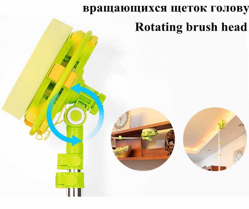 Hobot 188, esponja de limpieza telescópica de gran altura, limpiador de cristal ra Mop, cepillo para lavar ventanas, cepillo de polvo, limpiar las ventanas 168