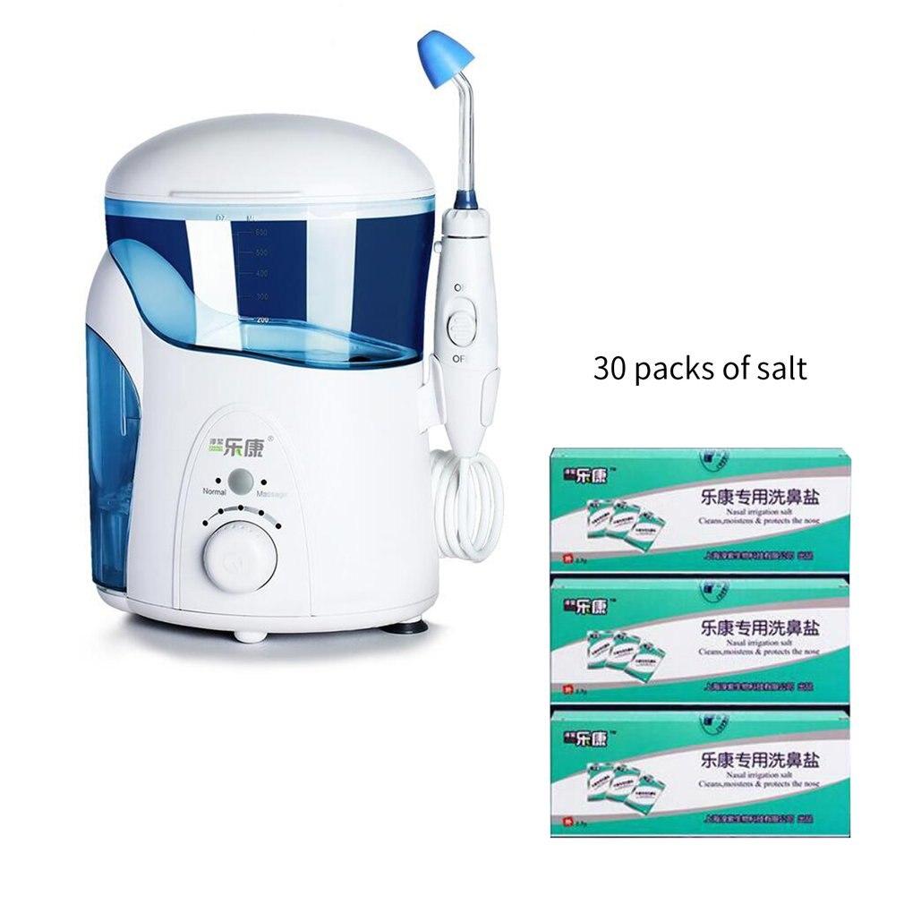 Électrique adultes enfants lavage Nasal nettoyant nez protecteur nettoie humidifie enfant adulte éviter les rhinites allergiques Neti Pot