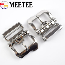 1Pc 4cm Stainless Steel Belt Buckle Leisure Business Men Metal Pin Buckles For 38-39mm DIY Sewing Accessories ZK771