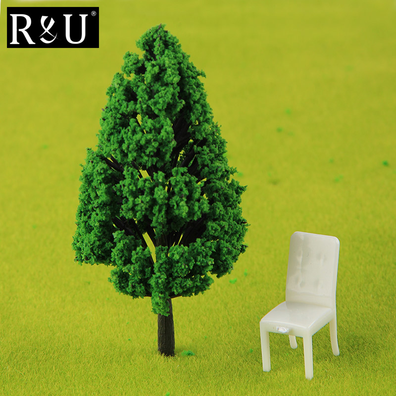 Ho Scale Plastic Miniature Model Trees For Building Trains Railroad Wargame Layout Scenery Landscape Diorama Accessories Choice Materials Doll Houses