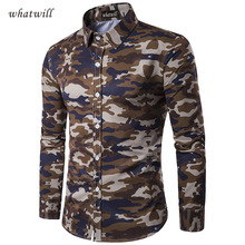Camouflage style 2017 mens polo shirt casual polos clothing fitness tops tees fashion shirts